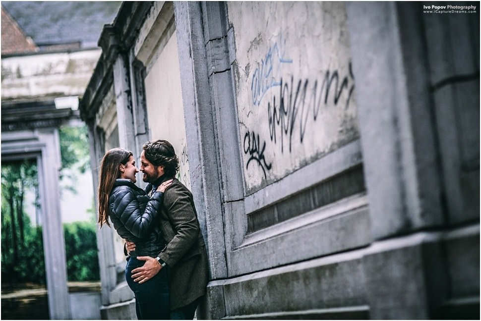 Couple photo session in Brussels by Ivo Popov Photography
