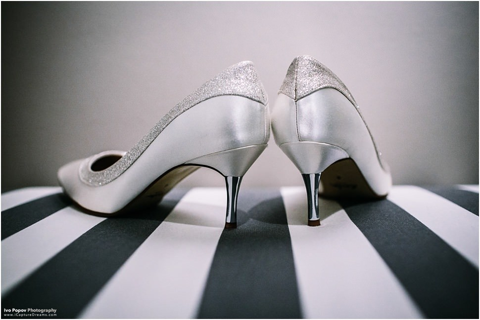 Gorgeous high heels for wedding