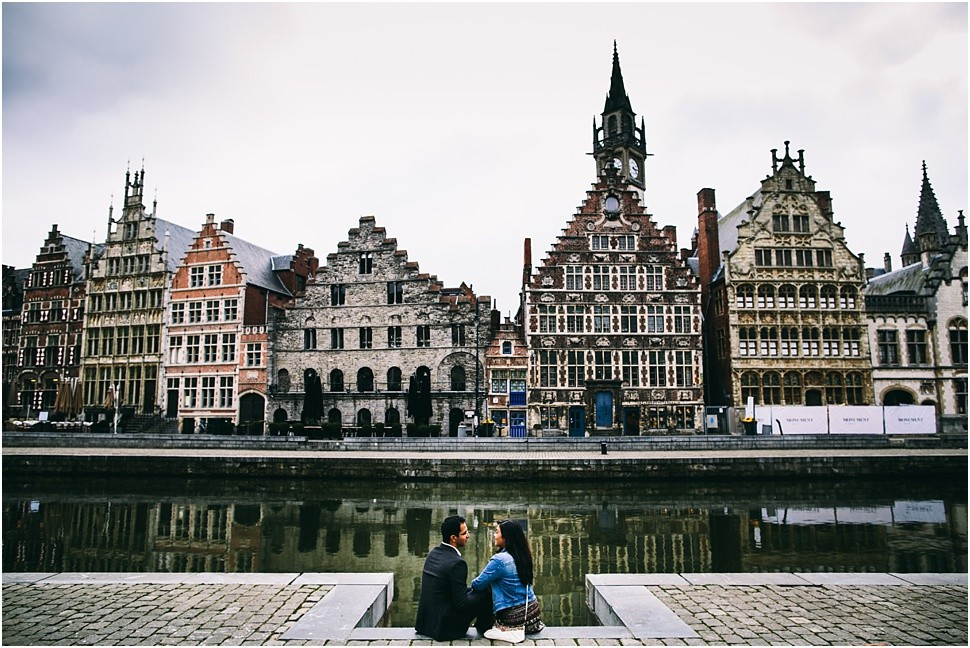 Engagement pictures in Ghent