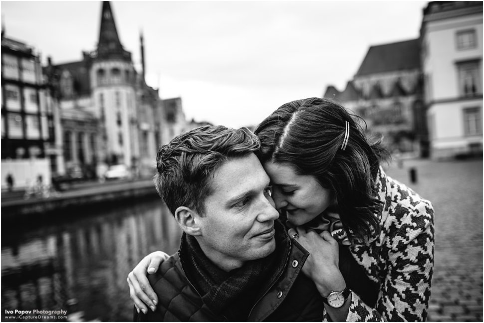 Engagement in Ghent // Emily and James