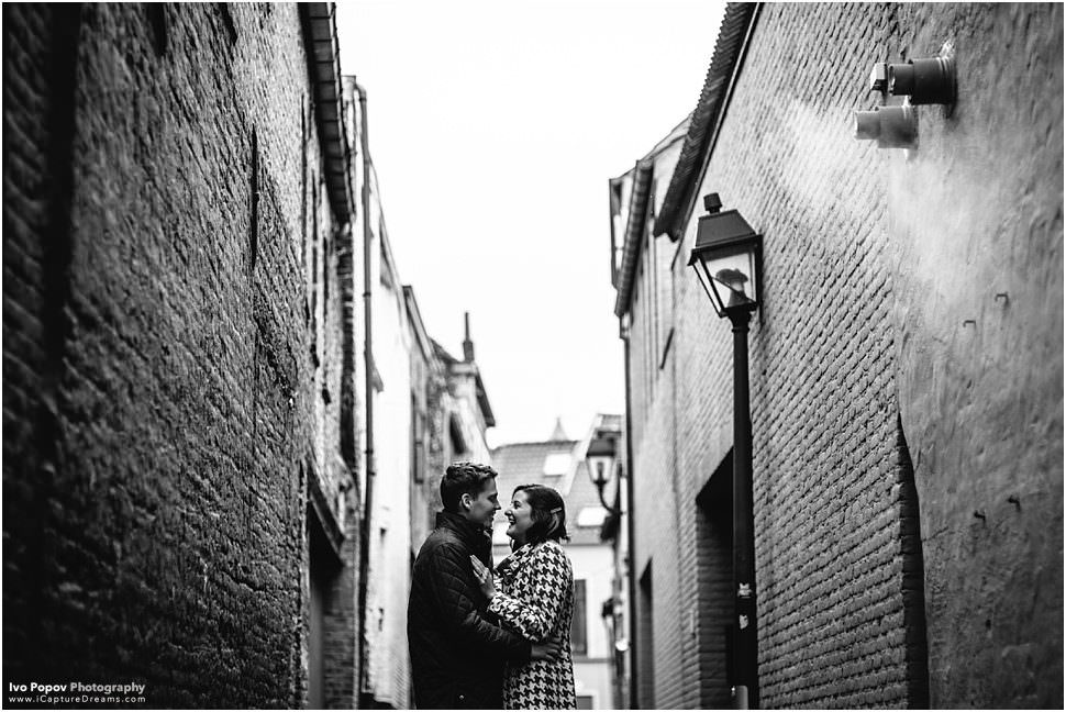 Engagement photographer in Ghent