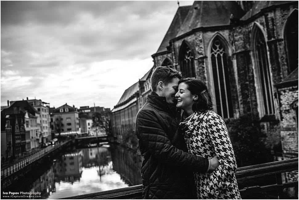 Engagement photographer in Belgium