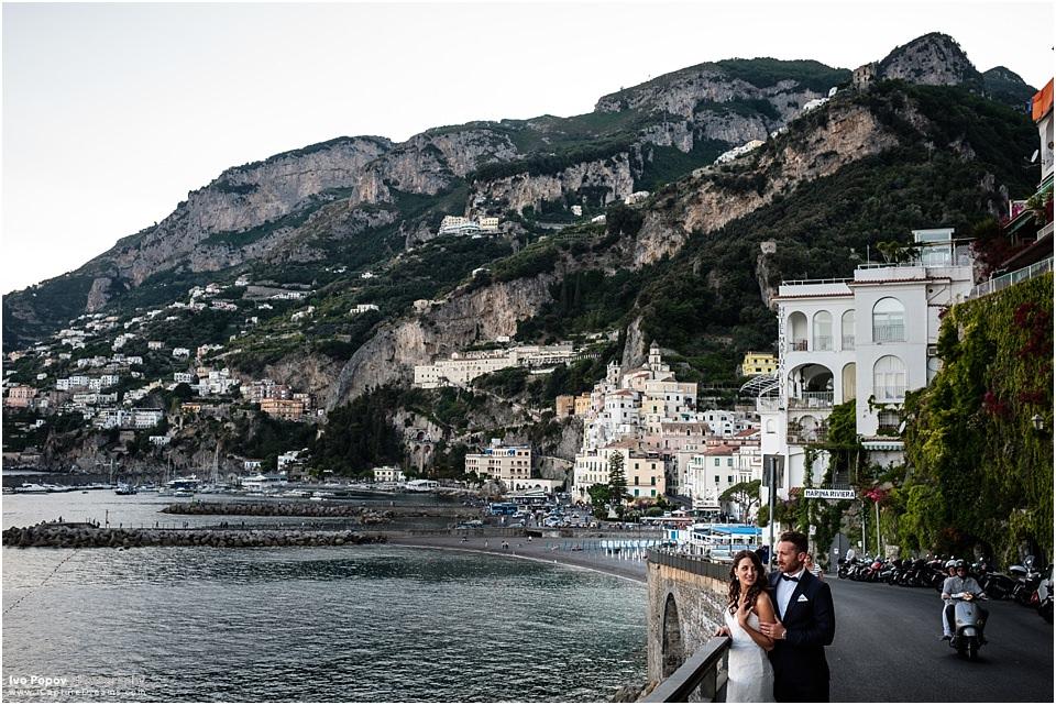 Sunset photo session in Amalfi
