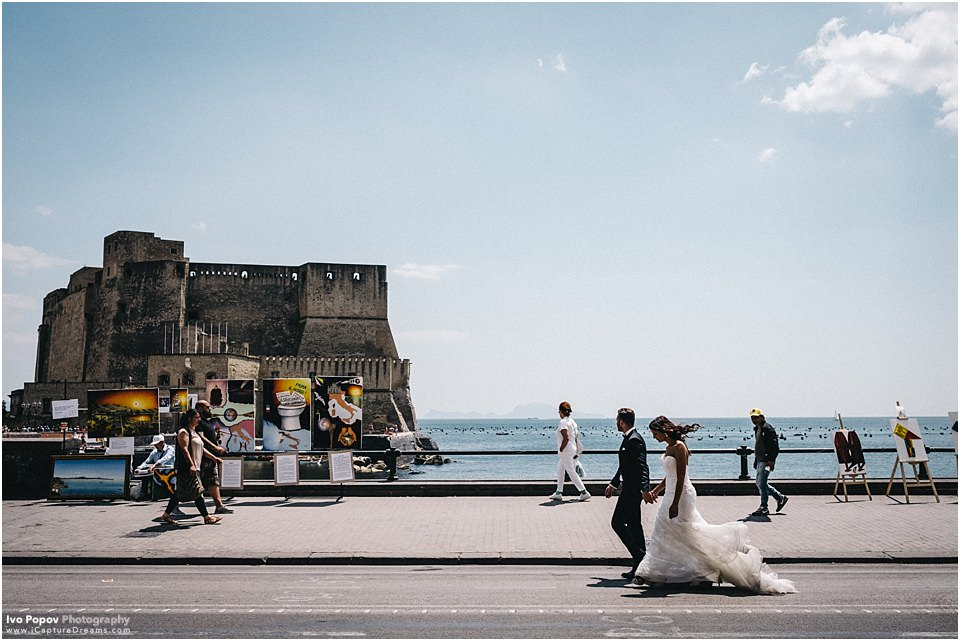 Summer photo session in Naples, Italy