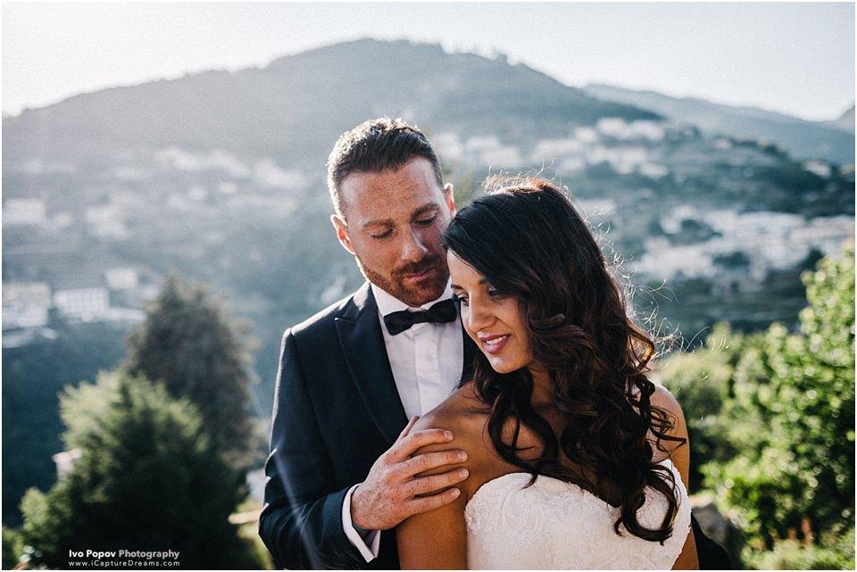 Pre wedding photo session in Ravello