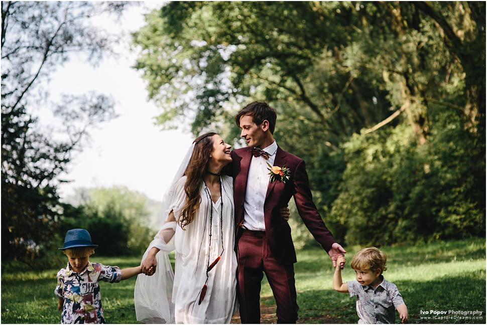 Outdoor wedding in Kortrijk // Frele and Simon