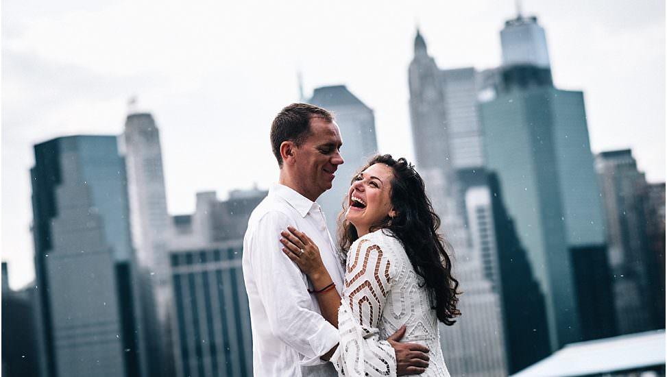 Destination wedding in New York