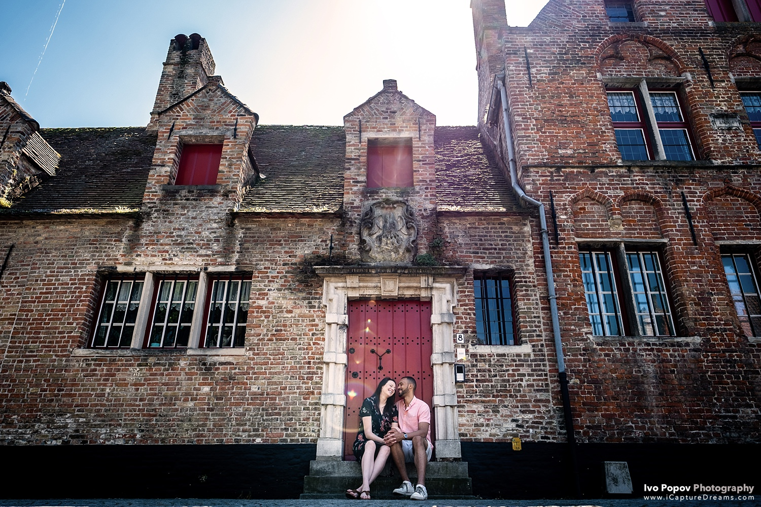 Engagement session in Knokke and Bruges