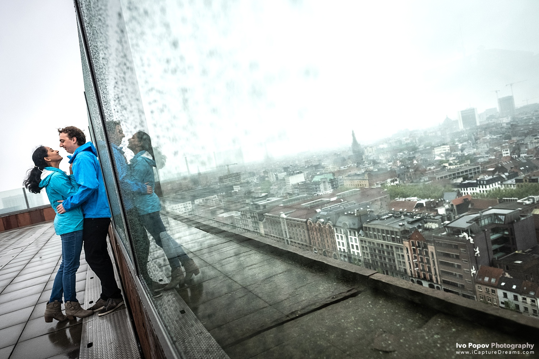 Loveshoot in Antwerpen