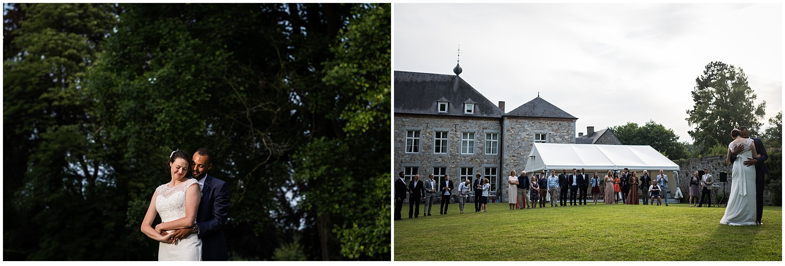 Outdoor wedding in Belgium