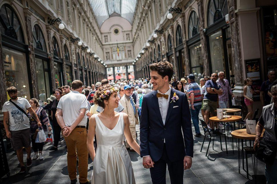 Photograph de mariage ? Bruxelles